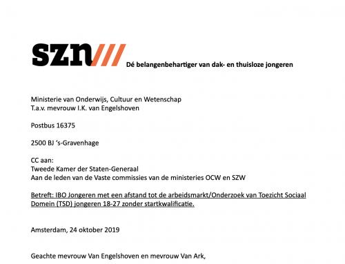 SZN adviseert ministeries Onderwijs en SZW: regel zorgplicht na VSO en Entree